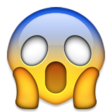 carpet cleaning scared emoji face